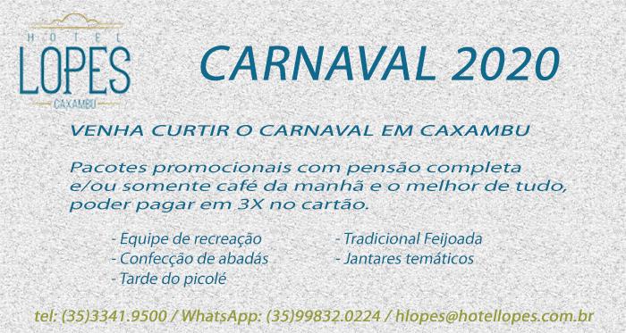 carnaval caxambu